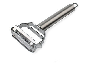 Stainless-steel-Ultra-Sharp-Dual-Julienne-peeler-for-vegetable-or-fruit-Tool