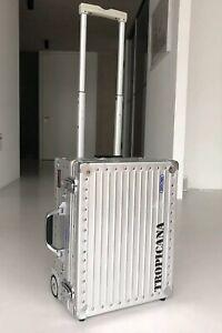 Rimowa-tropicana-Cabin-trolley-38203-case-maleta-made-in-Germany-aluminio