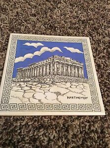 Vintage Trivet Ceramic Accent Wall Tile Parthenon X EBay - 6x6 accent tiles