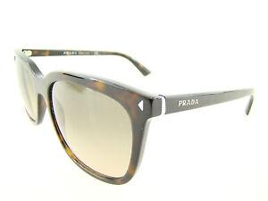 Details zu 1664 PRADA Sonnenbrille NEU Damen dezente Designer Brille braun gemustert