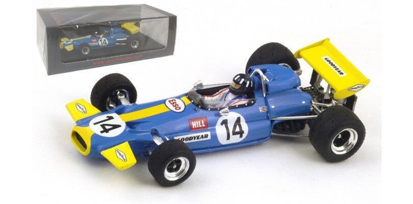 Spark s4338 BRABHAM BT33   14 GP Afrique du Sud 1971-Graham Hill, échelle 1 43,