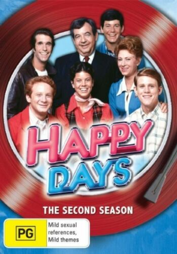 1 of 1 - Happy Days : Season 2 (DVD, 2008, 4-Disc Set) DVD R4 PAL NEW & SEALED FREE POST