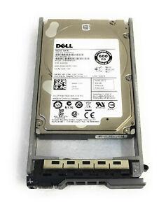 "Dell 600GB 2.5/"" Hard Drive 7YX58 07YX58 6G 10K SAS w//tray"