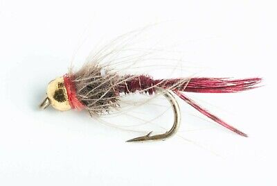 Blue Wing Olive BWO COMP Barbless Nymph Fly Hooks 9231 25 Pack
