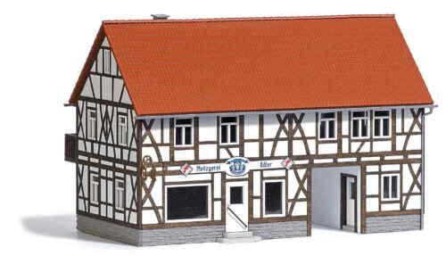 Busch 1530 Land-Metzgerei Adler Echt Holz NEU//OVP