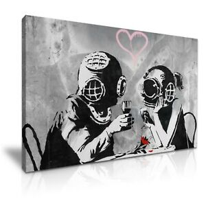 BANKSY Buddha Graffiti Modern Graffiti Art Canvas Print~ 5 Sizes