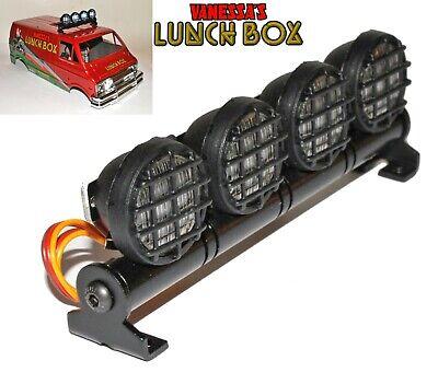 Rc Car Led Light Bar for Tamiya Wild Willy Lunchbox Grasshopper Midnight pumpkin