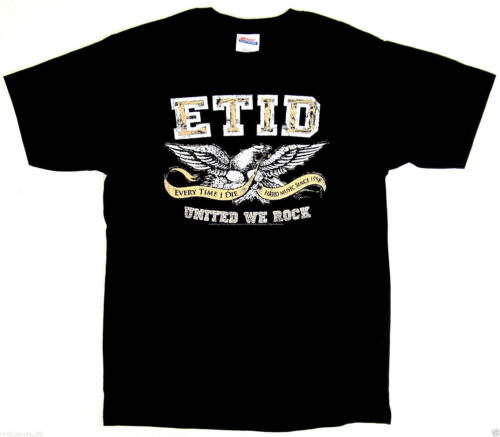 EVERY TIME I DIE EAGLE Logo T-shirt Hardcore Punk Metalcore Tee Adult MEDIUM New