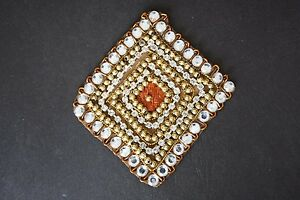 Jasdee Vintage Applique Patch Hand Work Sequins /& Embroidery Style A1322