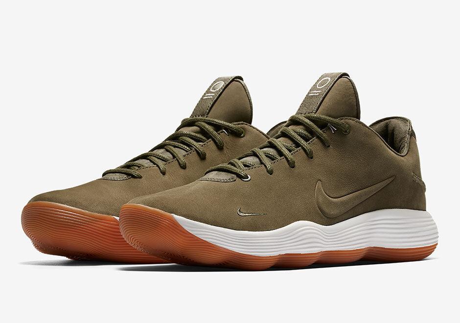 Nike Hyperdunk 2018 2018 Hyperdunk Low LMTD QS SZ 11.5 Olive vert Nubuck blanc Gum 897636-902 e71270