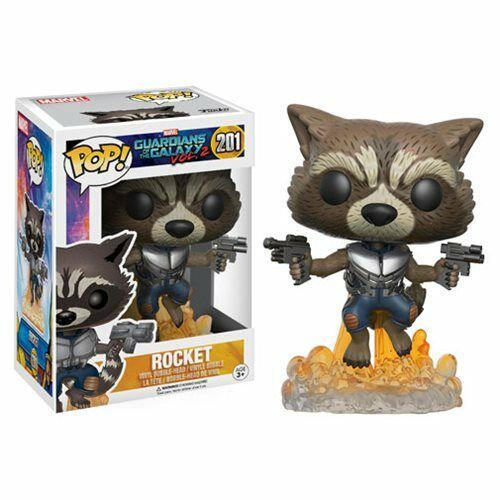 Guardians of the Galaxy Vol2 ROCKET RACCOON Vinyl Figure NEW IN STOCK Funko Pop
