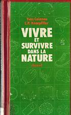 FRANCE FRENCH 1980 SURVIVAL GUIDE DE SURVIE : VIVRE ET SURVIVE DANS LA NATURE