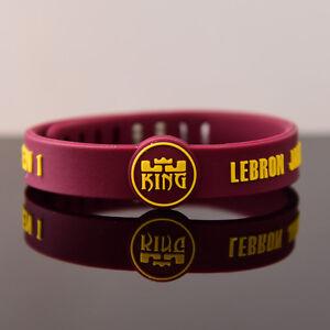 Image Is Loading Cavaliers Souvenir Basketball Wristband Lebron James Bracelet Adjule