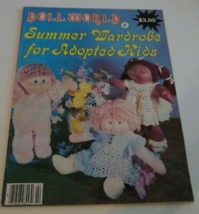 Doll-World-Summer-Wardrobe-for-Adopted-Kids-Complete-Uncut-Excellent-Condition