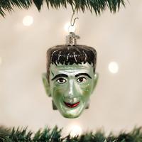 26052 Halloween Frankenstein Old World Christmas Glass Ornament Monster Doctor