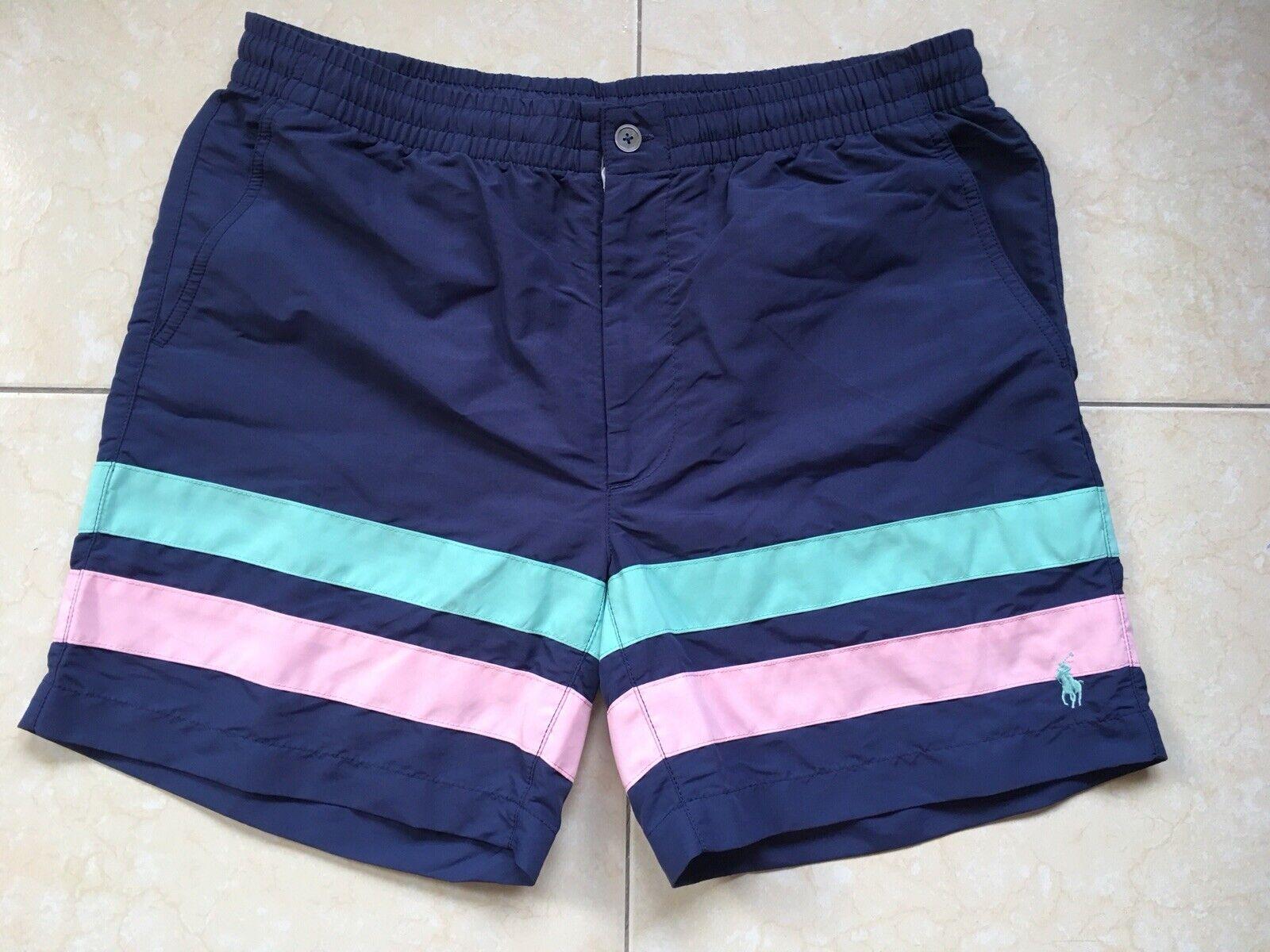 Polo Ralph Lauren Prepster Swim Shorts Navy Size M