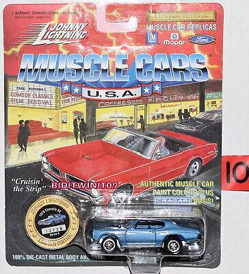 Johnny Fulmini Muscolo Macchine Serie 6 1970 Chevelle Ss Facile E Semplice Da Gestire