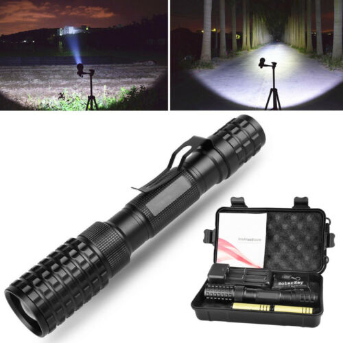 2018 SuperBright Portable Hiking Tactical Military Camping Climbing XML-T6