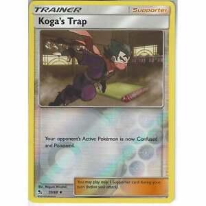59-68-Koga-039-s-Trap-Uncommon-Reverse-Holo-Card-Pokemon-TCG-Hidden-Fates-Trainer