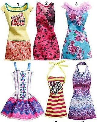 Barbie Fashion Doll Dress - Choice of 4 Styles - New