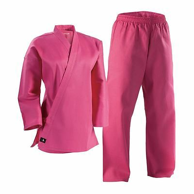 Pink Complete Student Martial Arts Uniform Great for Taekwondo /& Karate