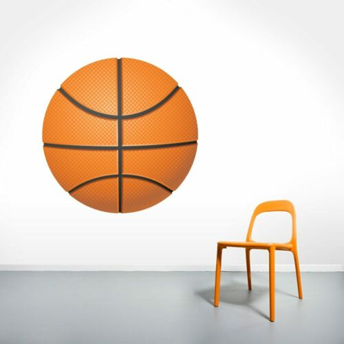 Sports Athletics Kids Room Man Cave Decals Mural Basketball Printed Wall Decal