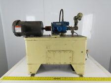 Vickers Pvb5 Rsy Cm12 2hp Hydraulic Power Unit 25 Gallon 208 230460v