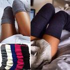 Women Winter Warm Knit Crochet High Knee Leg Warmer Leggings Boot Socks Slouch