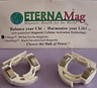 New ALEX CHIU IMMORTALITY MAGNETIC WHITE FINGER RINGS-Instructions included