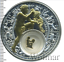Silver coin zodiac sign Aquarius 2013 Belarus 20 Rubles