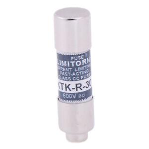 1x-Original-KTK-R-30-30A-KTKR30-30A-600V-fast-acting-fuse-10-38mm
