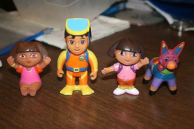 Go Diego Go Dora the Explorer and Backyardigan Figures 20 Figures  Lot