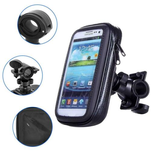 360° Bicycle Bike Waterproof Case Mount Holder Cover For Samsung Galaxy Phones