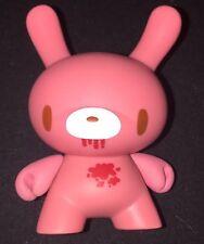 "Kidrobot Dunny 2009 2-3/4"" vinyl figure pink Gloomy bear by Mori Chack loose"