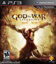 PS3 God of War Ascension for PLAYSTATION 3 BRAND NEW SEALED