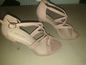 Blush Pink Newlook Heels Size 7. Worn once
