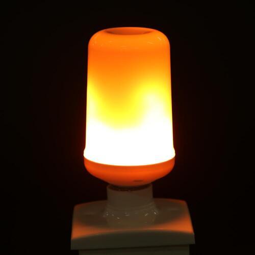E27 4W 108LED Fackel Feuer 3 Modi Lampe Flammen Effekt Glühbirne Flacker Birne