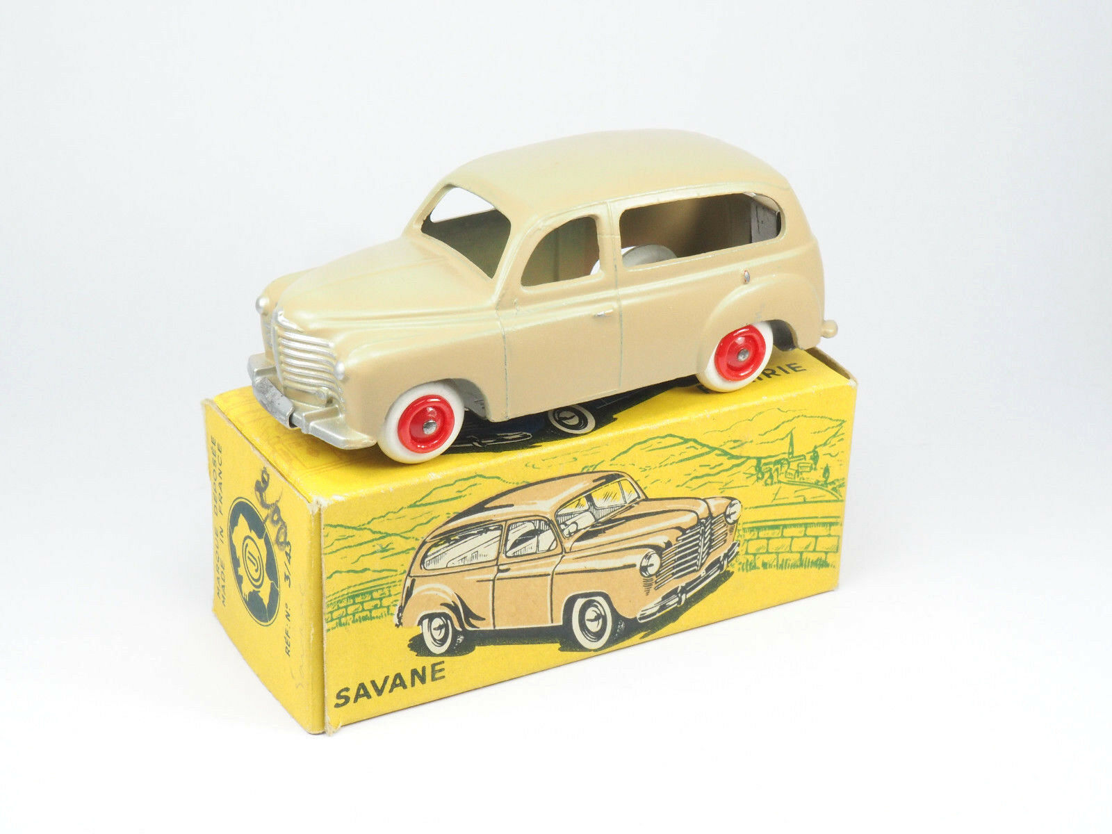 CIJ - Ref 3 43 - Renault Coloreeale Savane - 1 43e - France