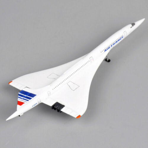 1//400 Concorde Plane Air France 1976-2003 Aircraft Airlines Vehicle Toys Gifts