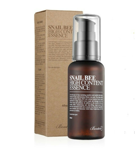 [Benton] Snail Bee High Content Essence 60ml (Renew)  -Korda cosmetics