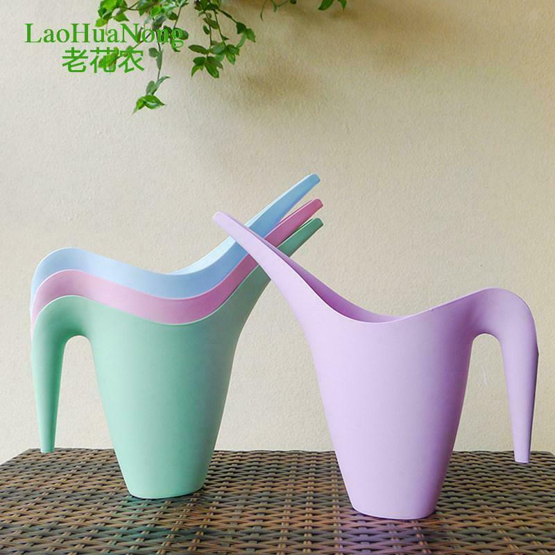 Long Spout Watering Can Kettle Indoor Outdoor Plants Irrigation Watering Pot