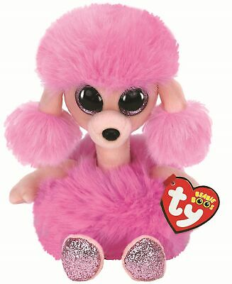 Ty Beanie Boos 37403 Camilla the Pink Poodle Boo Medium