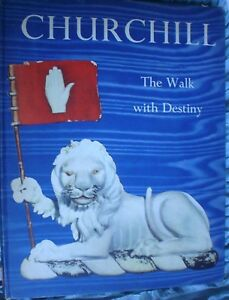 BOOK-MILITARY-ARMY-WAR-CHURCHILL-WALK-WITH-DESTINY-FULLY-ILLUSTRATED-SEE-PICS