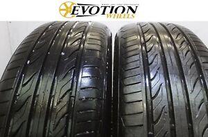 2156017 LANDSAIL 215 60 17 100V XL LS388 Used Part Worn 6mm+ x 2 Tyres