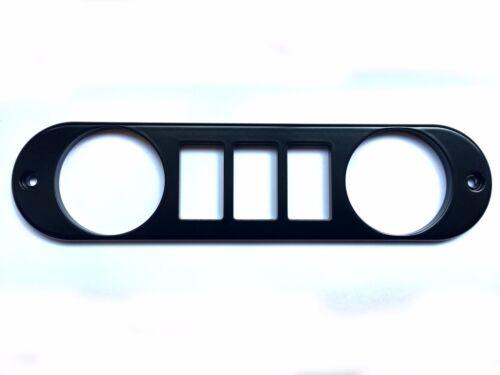 Center Dash Face Plate VDO gauge, Carling config Land Rover Defender 90//110