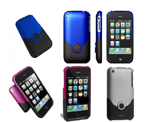 ifrogz-iPhone-3G-3GS-Two-Tone-Lux-Case-amp-Screen-Protector-Blue-Purple-Silver