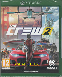 The Crew 2 Xbox One Brand New Factory Sealed Racing