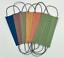 """Indexbild 55 - 5/10 Stück Mundschutz Einweg-""""OP""""-Masken 3-lagig Vlies bunt farbig - 47 Dessins"""