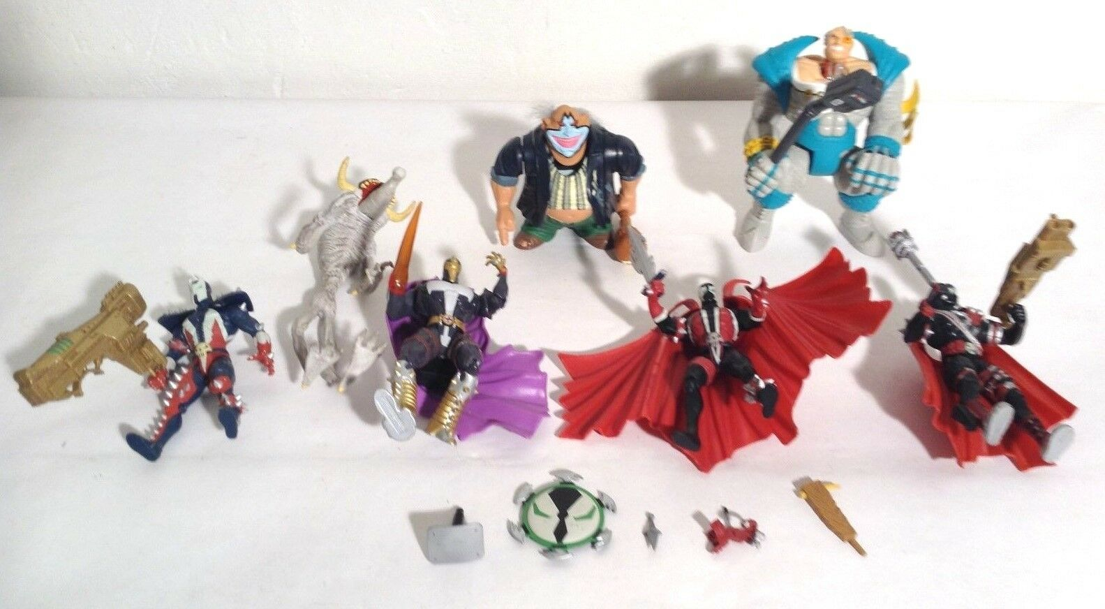 Todd McFarlane's SPAWN Action Figures, Lot of 7  Deluxe Editions from 1994-1995