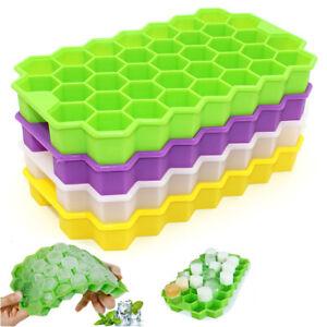 Silicone-Honeycomb-Shaped-Ice-Cube-Tray-Ice-Making-Mold-With-CoverLDUK-SPUK